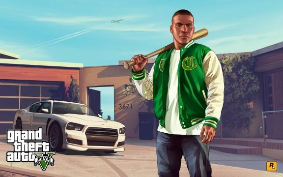 GTA V Artwork Franklin 4