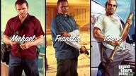 GTA V Artwork Michael Franklin Trevor