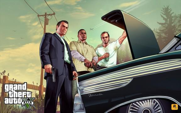 GTA V Artwork Trunk