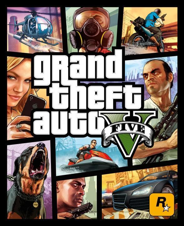 Grand Theft Auto V Official Cover Art Revealed!