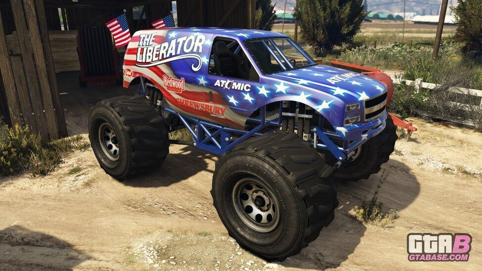 Liberator Gta V Gta Online Vehicles Database Statistics Grand Theft Auto V