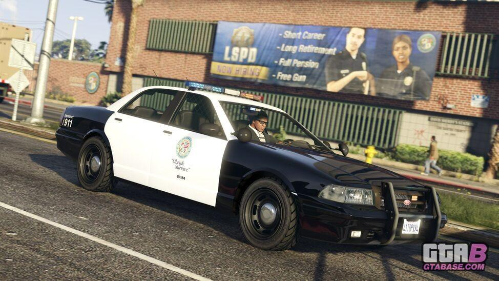 Police Cruiser - GTA V & GTA Online Vehicles Database & Statistics - Grand  Theft Auto V