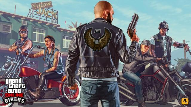 GTA V Artwork Bikers