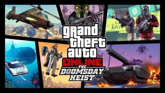 GTA V Artwork DoomsdayHeist