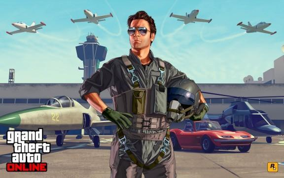 GTA V Artwork FlightSchool