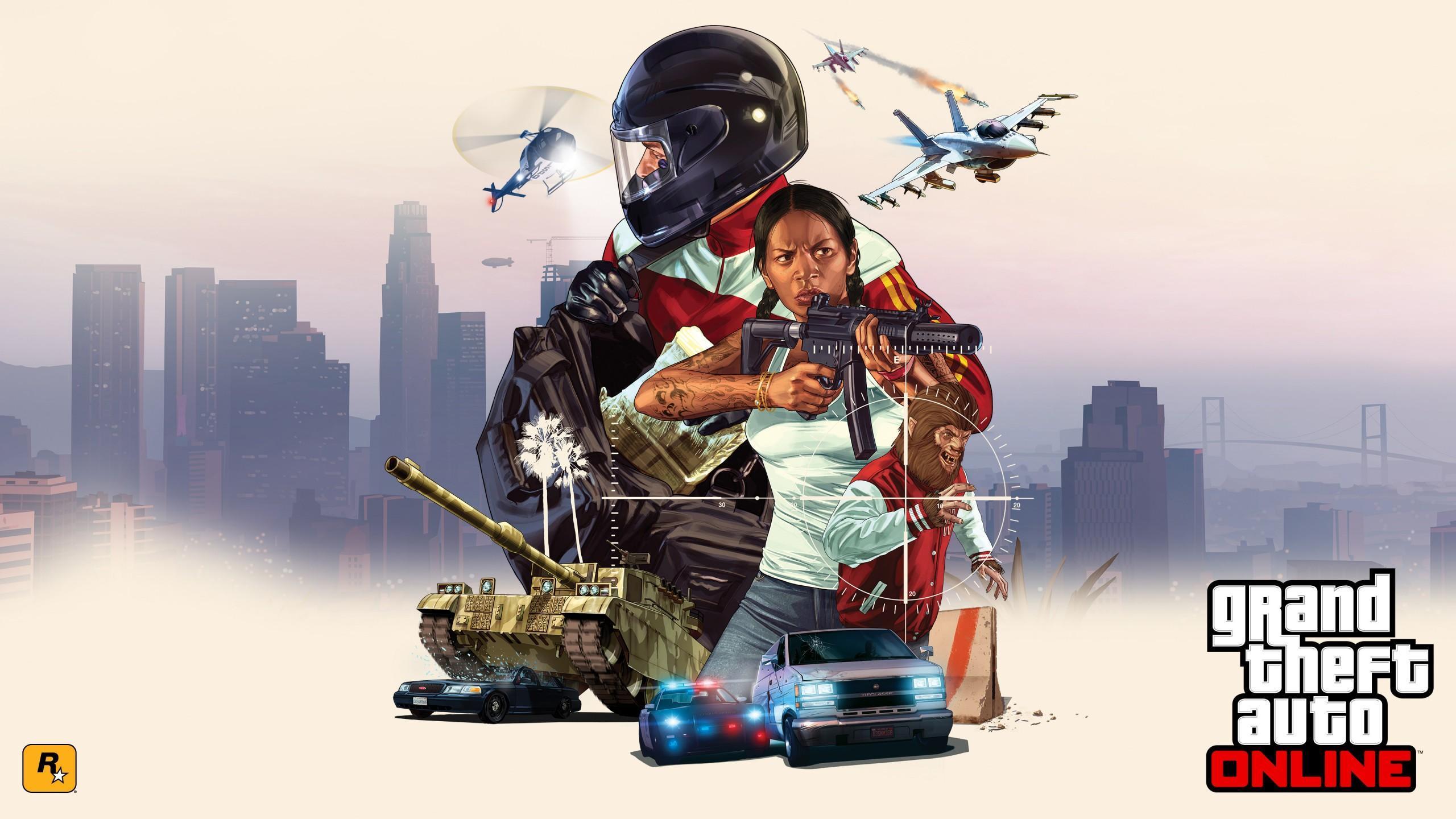 GTA Online Artworks - Grand Theft Auto V Artworks & Wallpapers