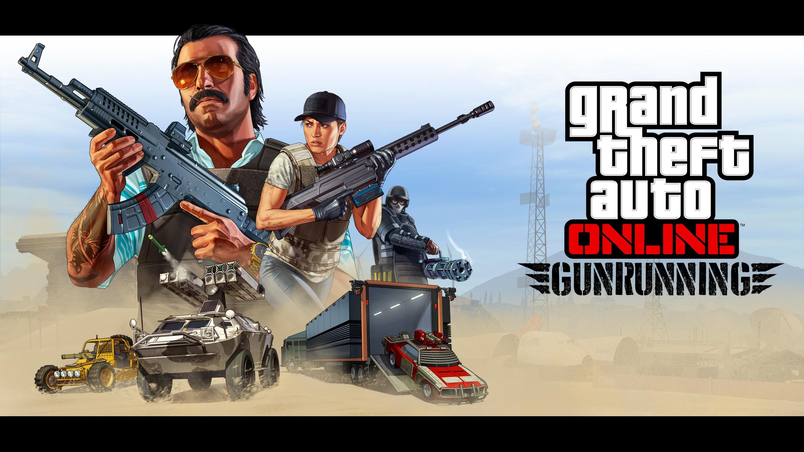 GTA V Artwork Gunrunning