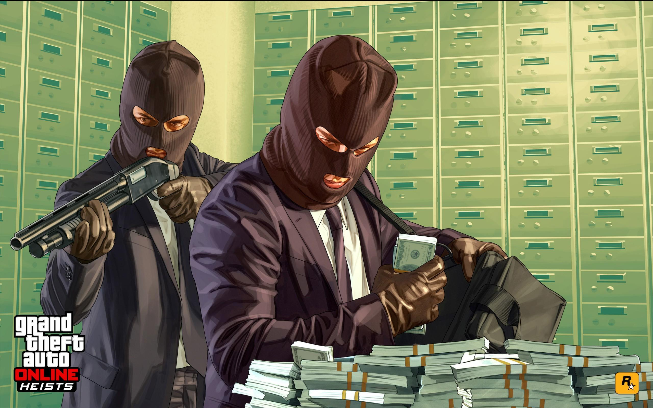 Gta V Artwork Heists