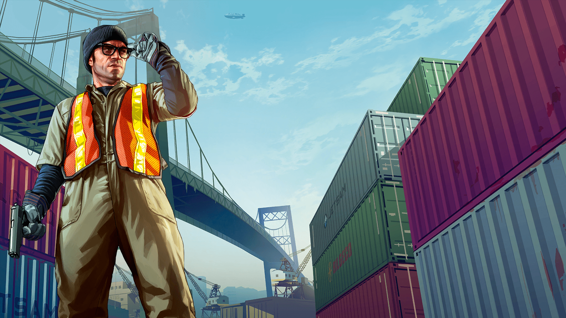 GTA V Artworks - Grand Theft Auto V Artworks & Wallpapers