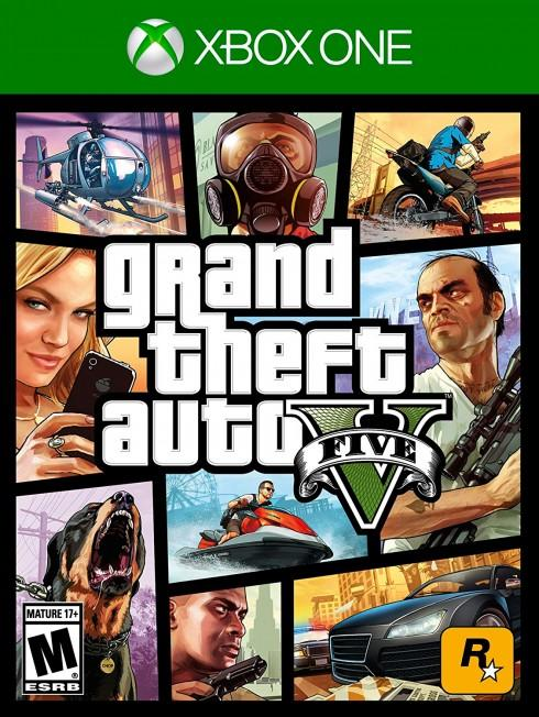 GTA V Cover XboxOne