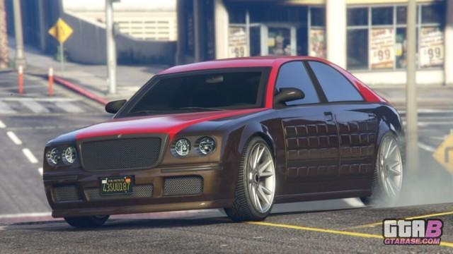 GTA5 Cognoscenti55 Armored Online