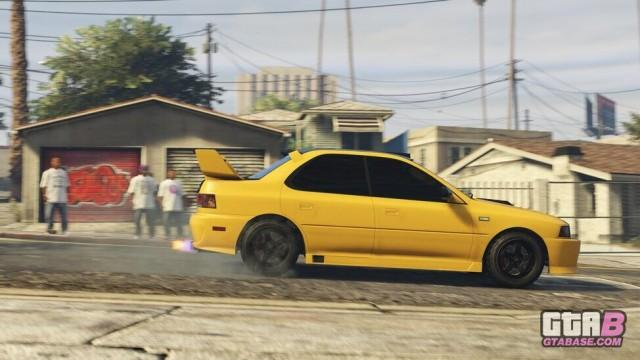 GTA5 Vehicle SultanClassic Action