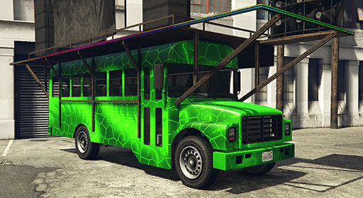 Festival Bus (Alien Invasion)