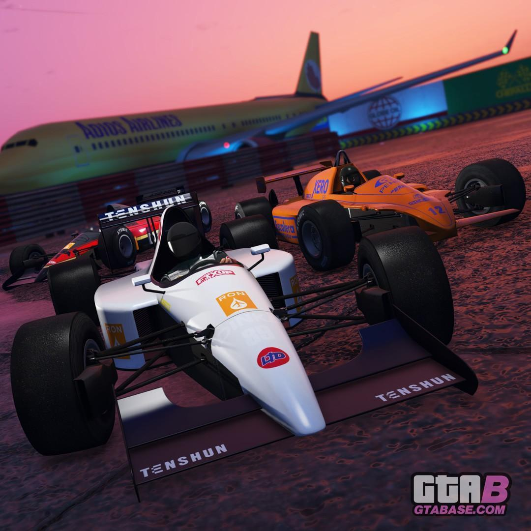 Gta Online Open Wheel Racing Now Available Two New F1 Cars More Grand Theft Auto V News News Updates