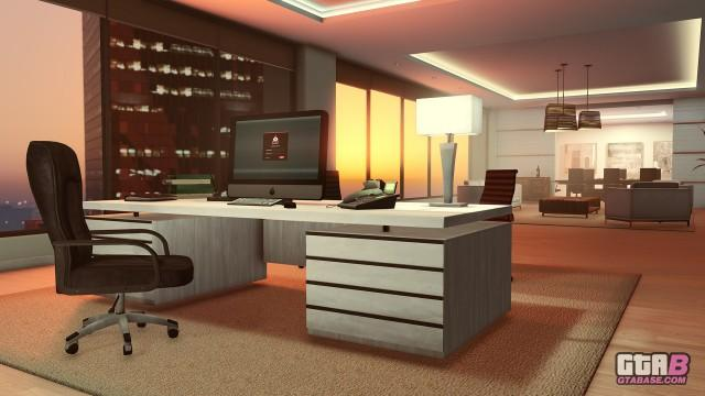 GTAOnline Screenshot Executive Office
