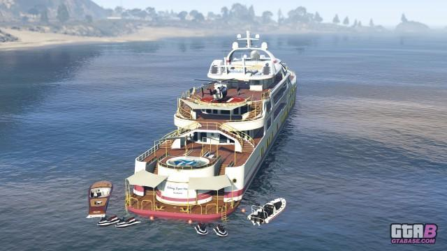 GTAOnline Screenshot Yachts