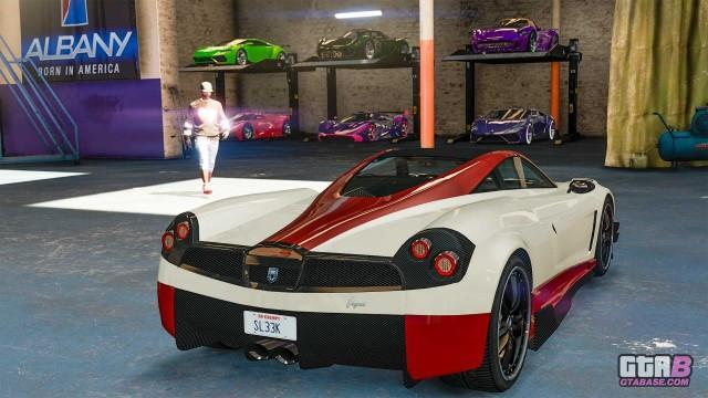 GTAOnline Screenshot Vehicle Warehouse