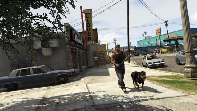 GTA5 232 Franklin Chop