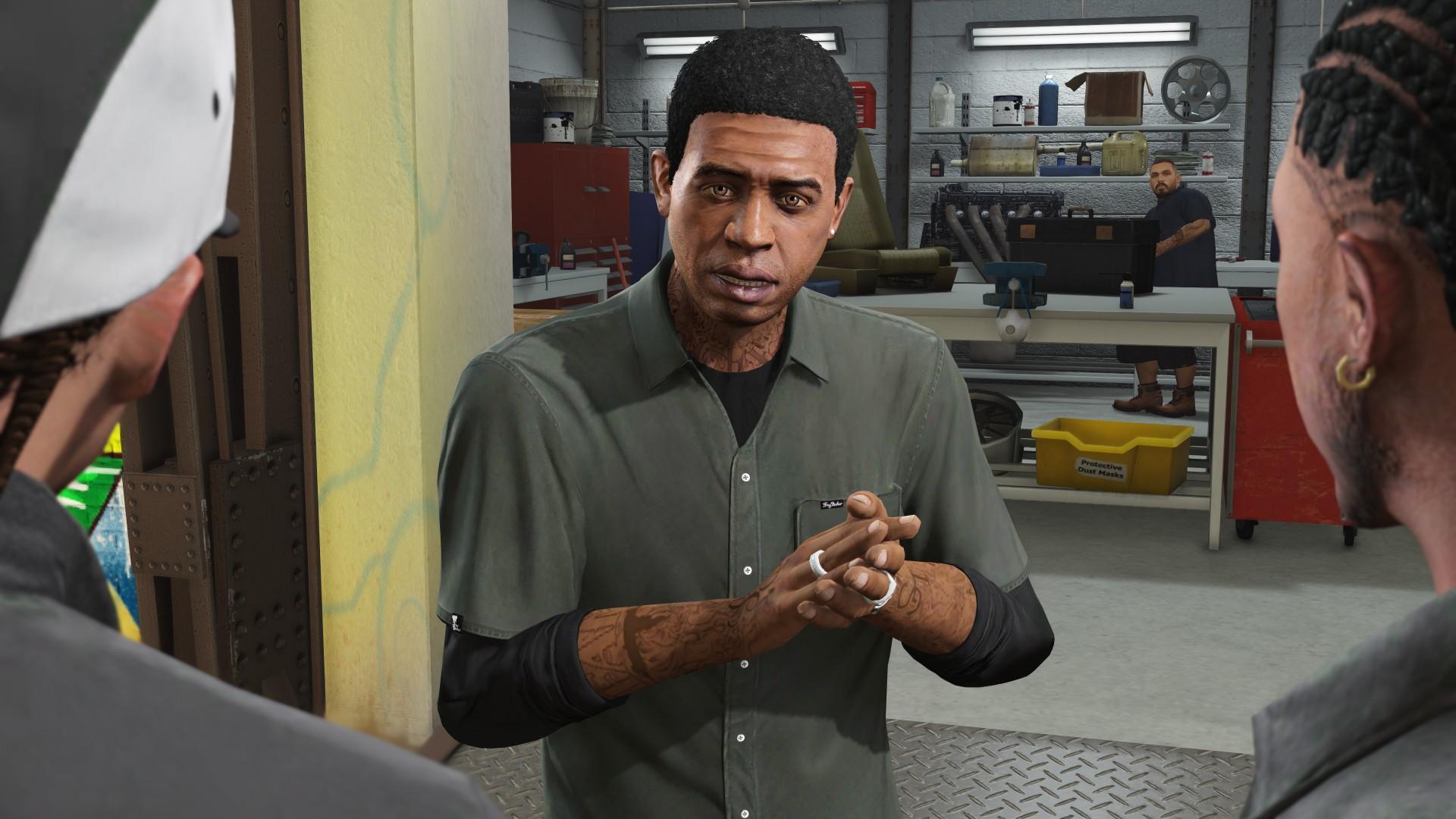 Lamar Davis - GTA V Characters - Grand Theft Auto V