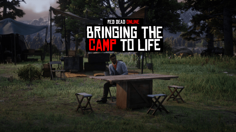 Red Dead Online: Bringing the Camp to Life (Concept & Ideas)