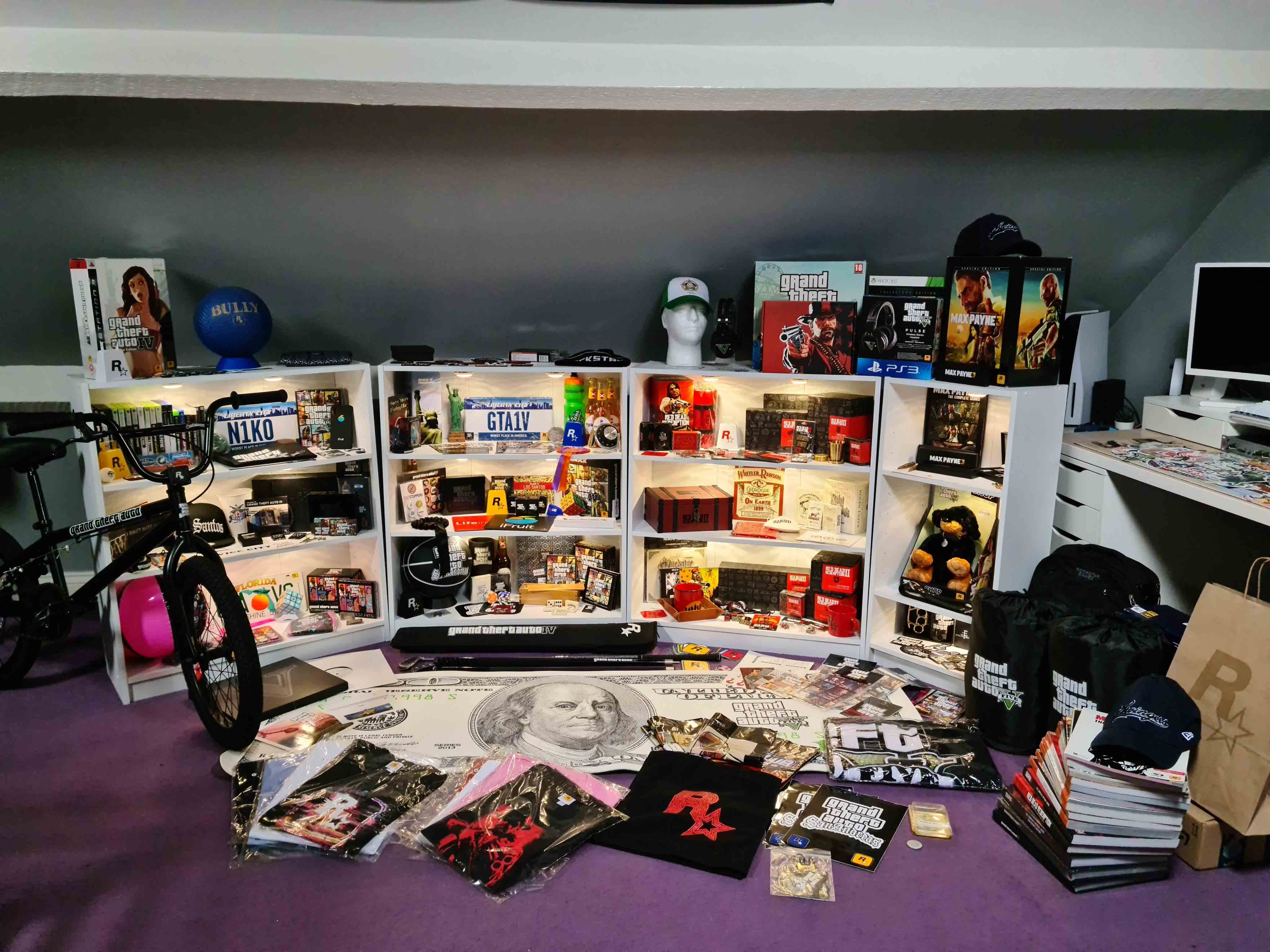 Interview with ROBHADD: Owner of One of the Biggest Rockstar Games Merchandise Collection