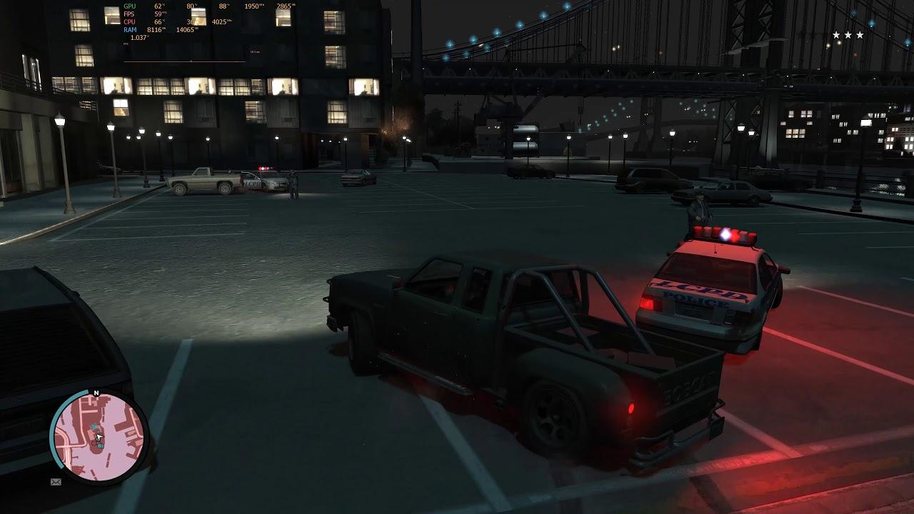 Snow Storm GTA IV