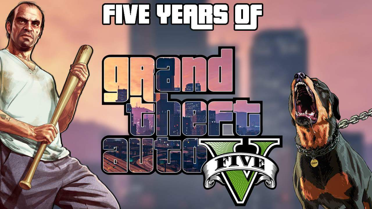 GTA V FIVE Years Anniversary - A Look Back at Grand Theft Auto V