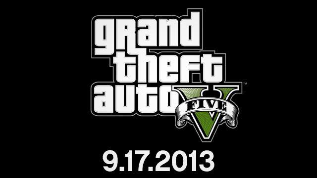 Grand Theft Auto V Official Release Date set for September 17, 2013
