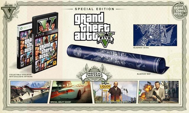 Grand Theft Auto V Special Edition and Collector's Edition Announced - All Details