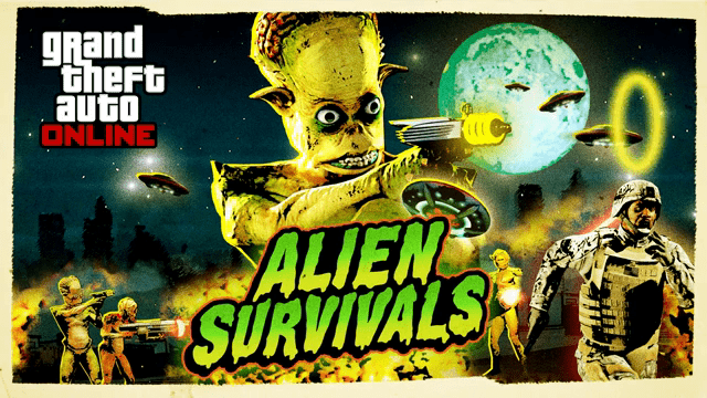 Gta Online 3x Alien Survivals 2x Business Battles New Unlocks Discounts More Grand Theft Auto V News News Updates