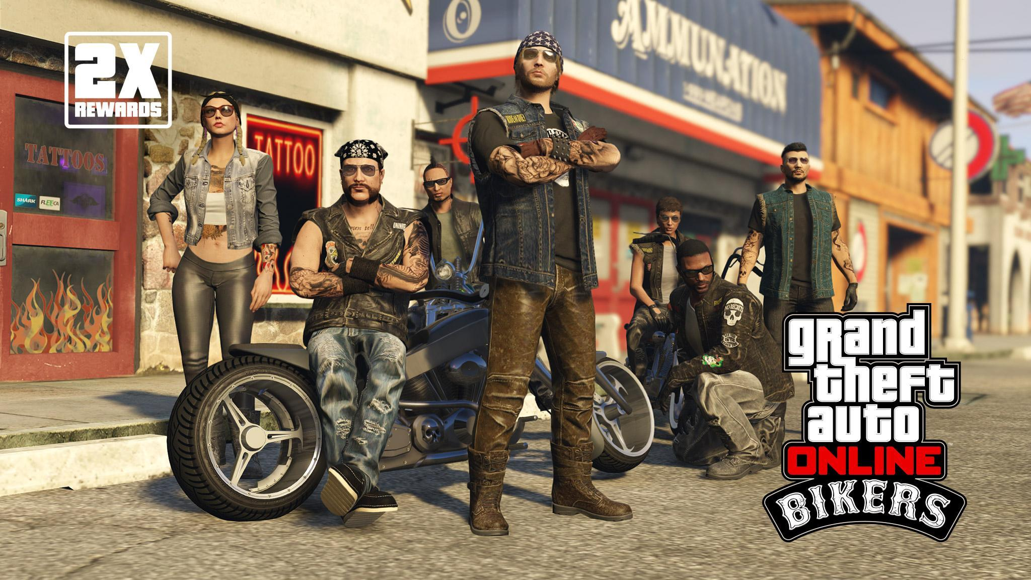 Gta Online Bikers Week With New Bonuses Discounts More Grand Theft Auto V News News Updates