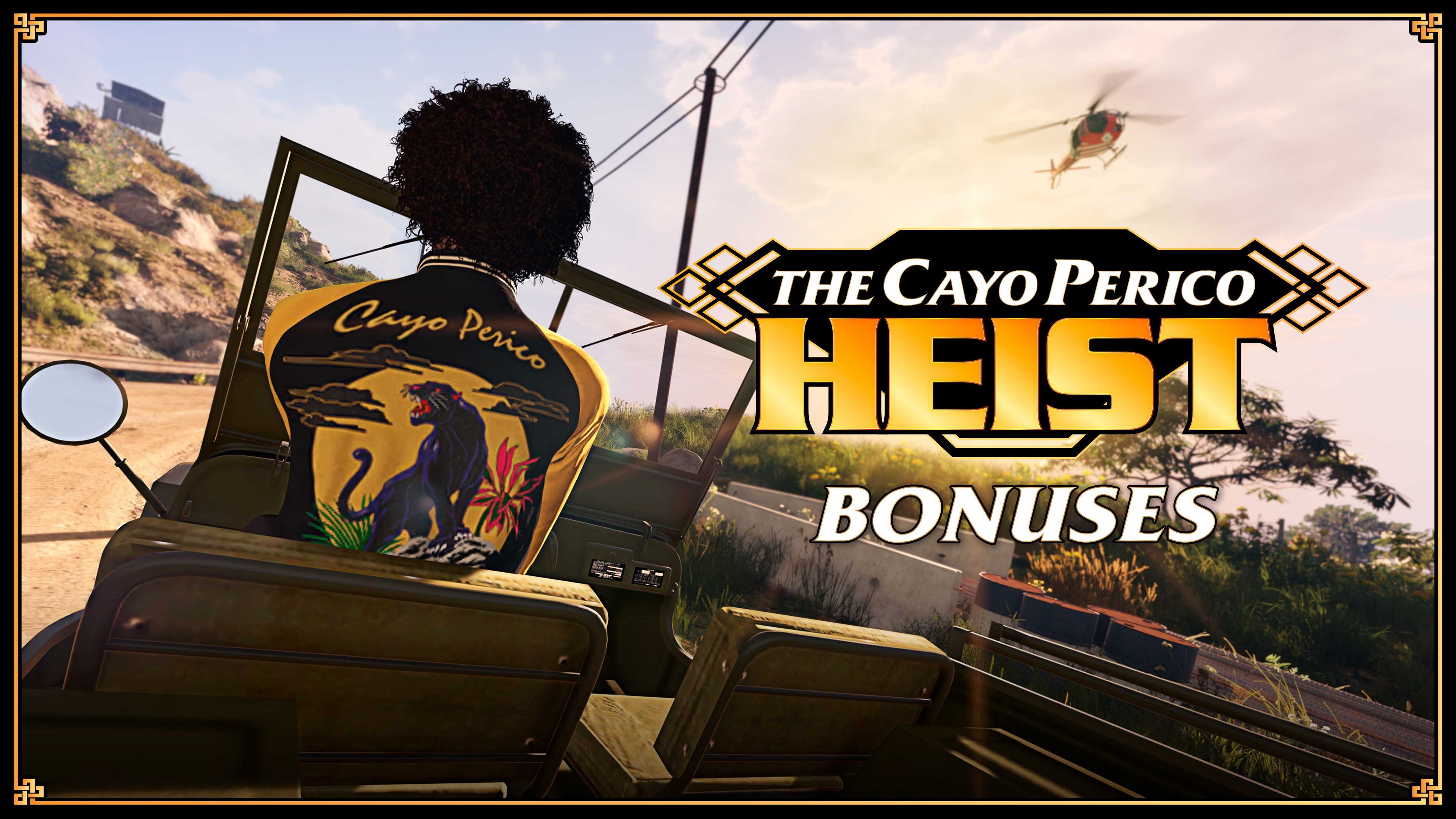 GTA Online: The Cayo Perico Heist Bonuses, Heist Challenge Rewards, Unlocks & more