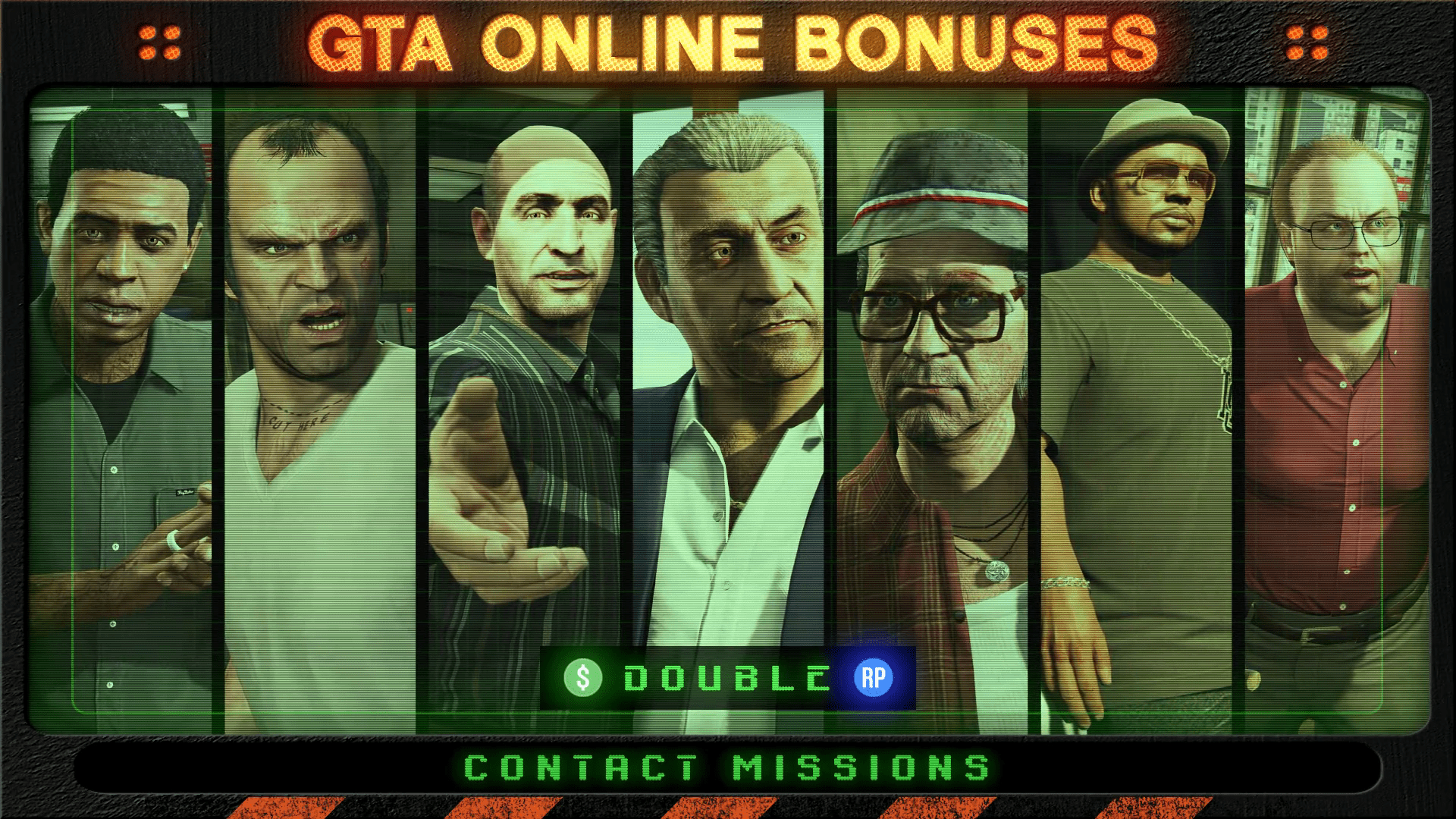 GTA Online: Double Rewards on Contact Missions & more