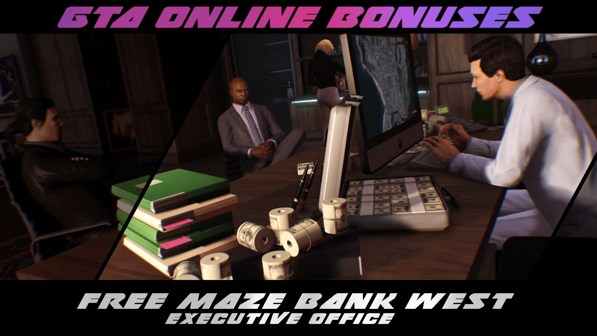 GTA Online: New Simeon Premium Deluxe Repo Work Missions, Free Executive Office & more