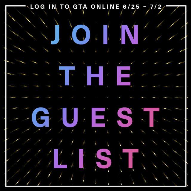 GTA Online: Get on the Guest List for Exclusive Benefits!