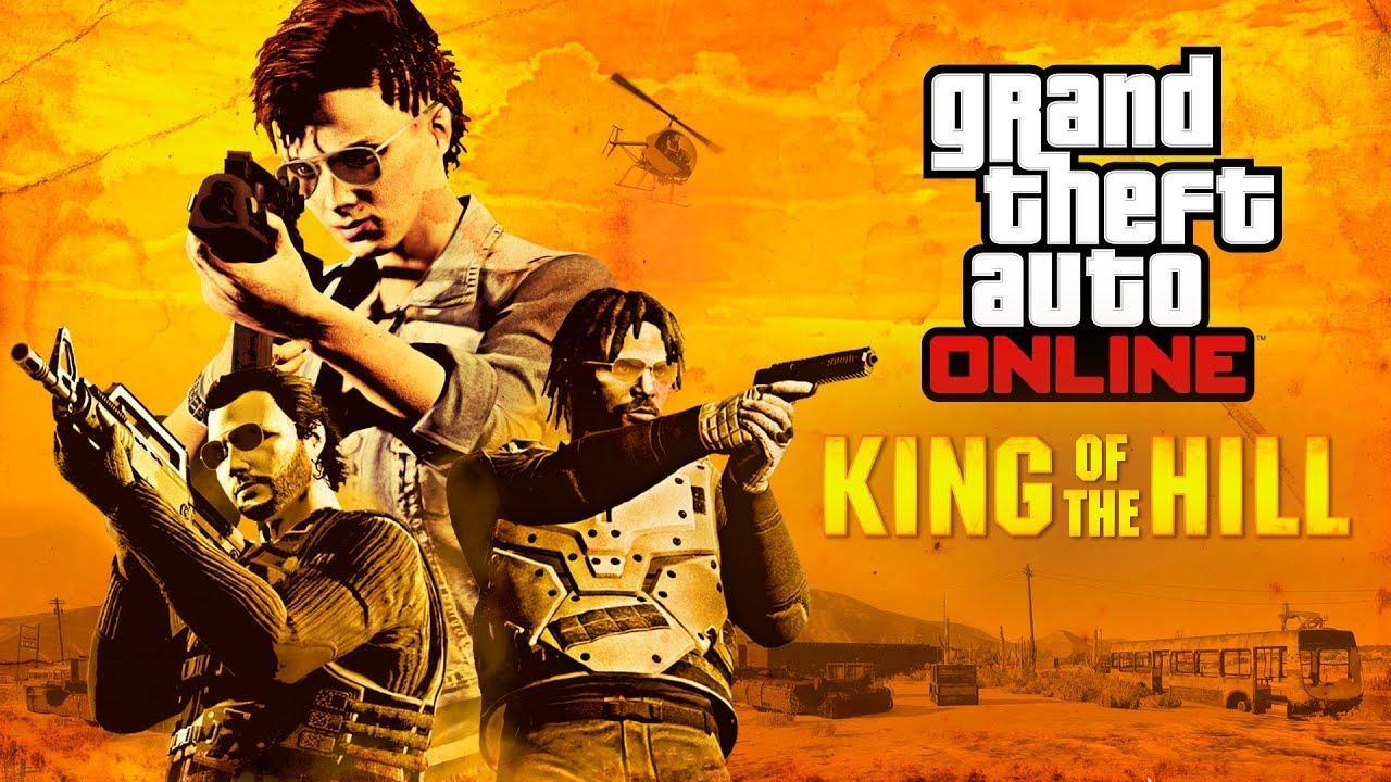 gta online king of the hill adversary mode