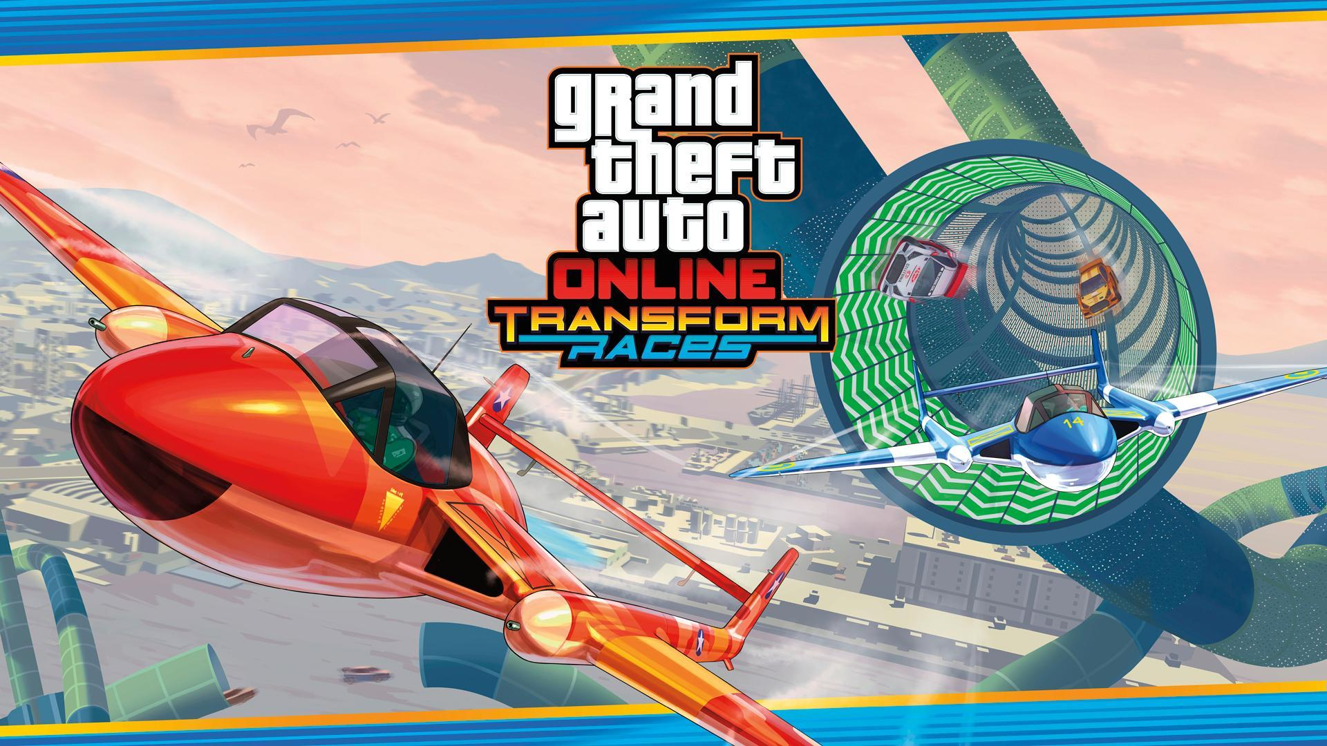 New Transform Races & Creator Updates in GTA Online