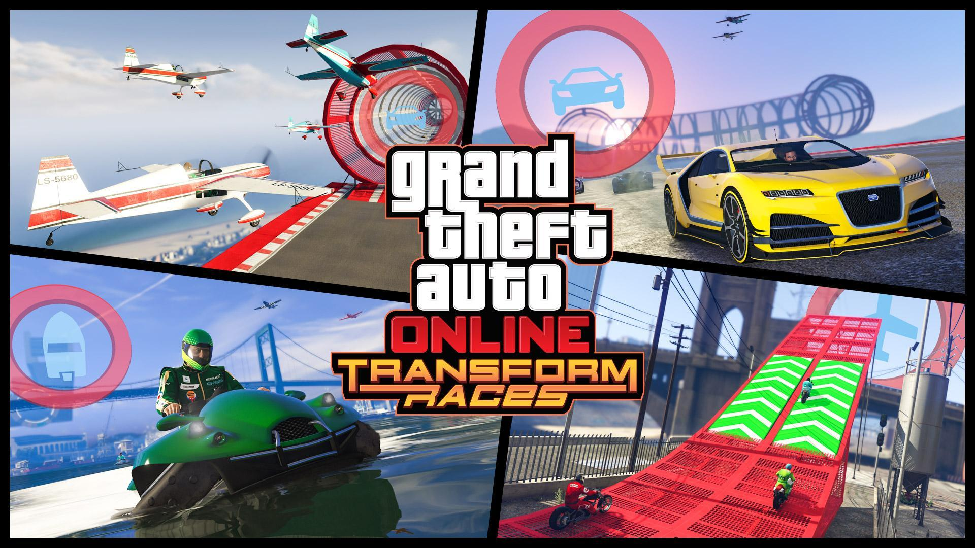 GTA Online: Transform Races Trailer - Coming October 17