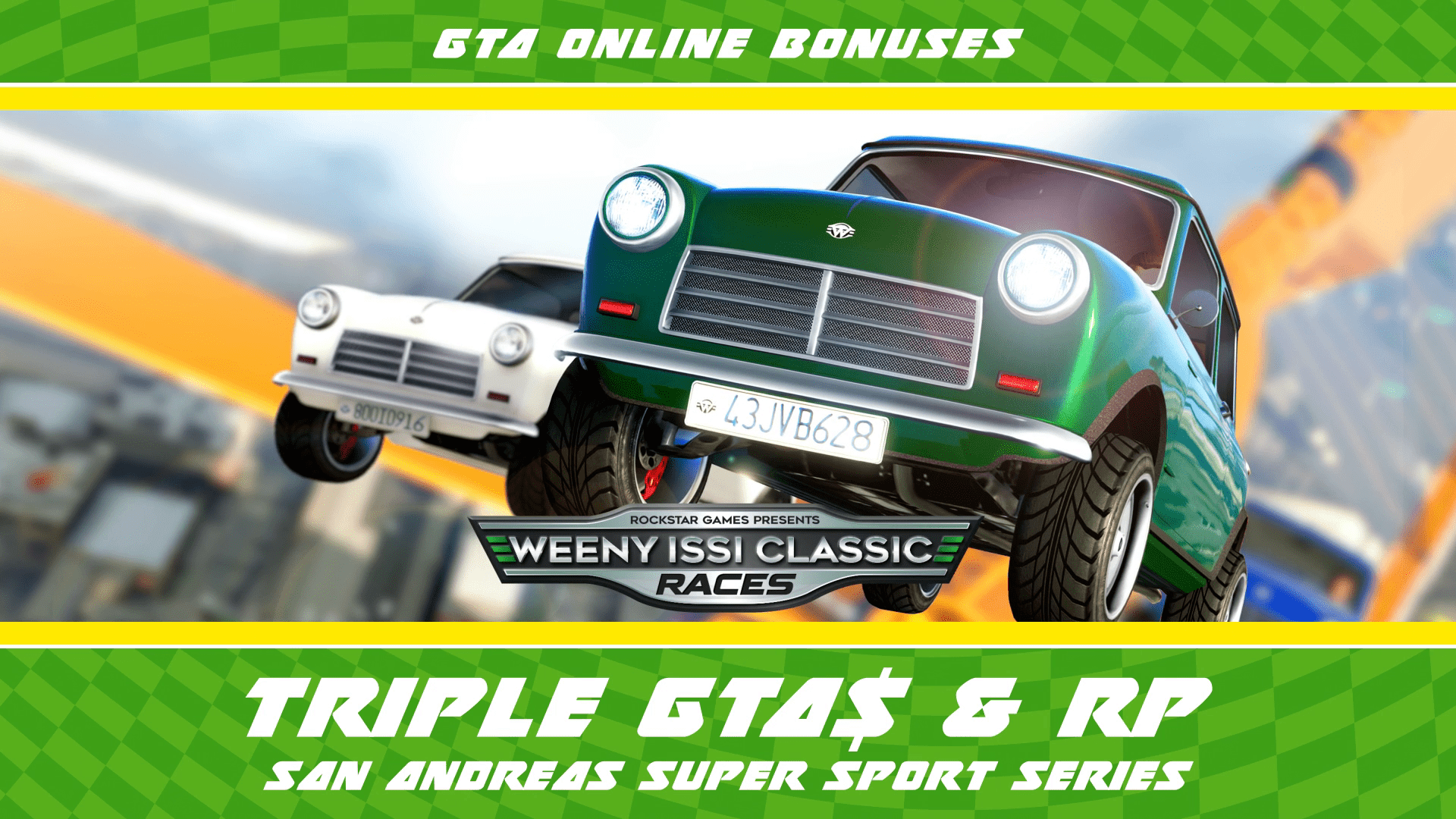 GTA Online: Triple Rewards on Hotring Circuit, Issi Classic, RC Bandito Races & more