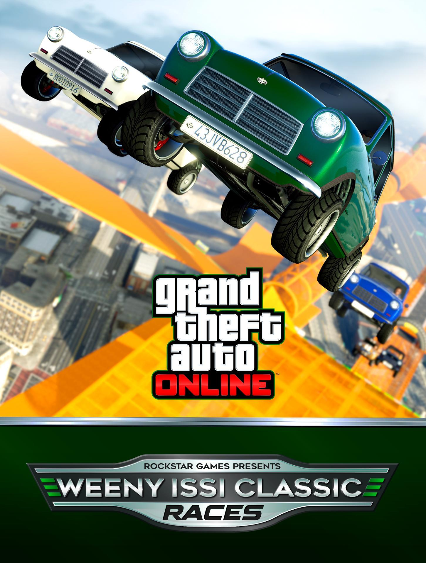 GTA Online: New Weeny Issi Classic Races