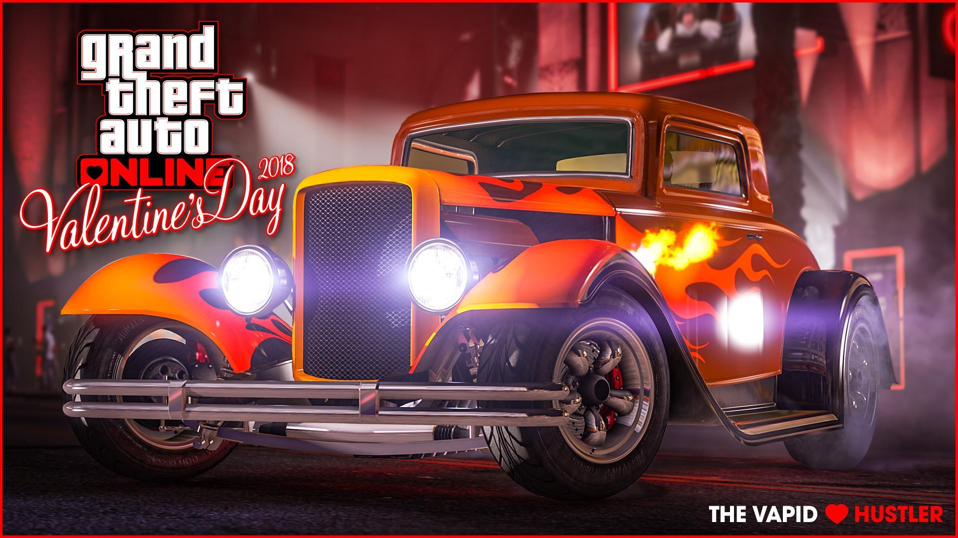 Valentine's Week in GTA Online: The New Vapid Hustler