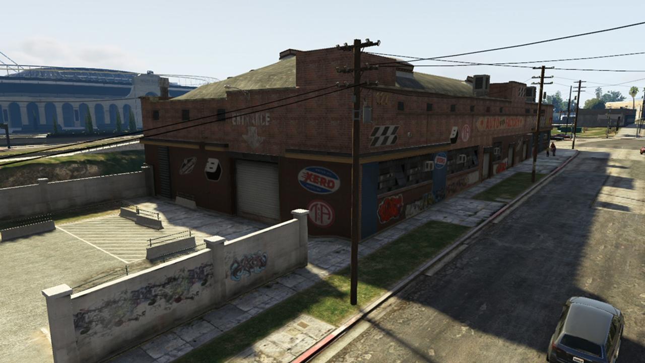 Grove Street Garage - GTA V Story Mode Properties - GTA V Properties