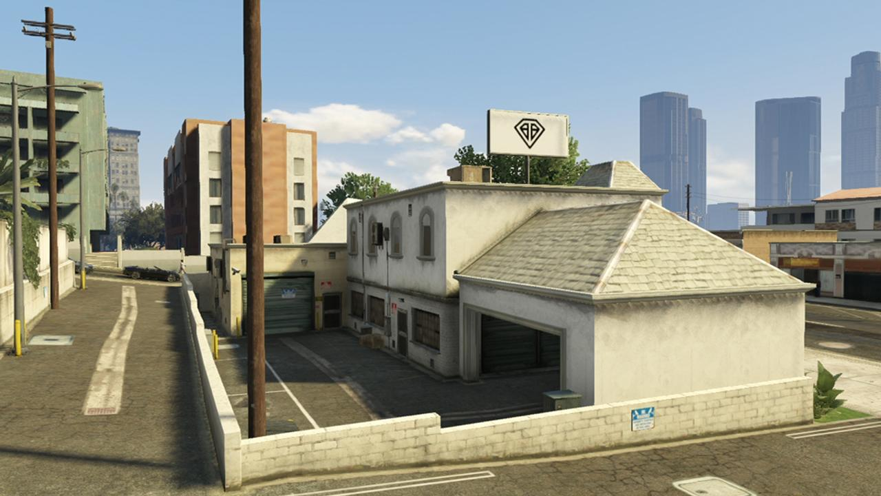 how to get a garage in gta 5 story mode