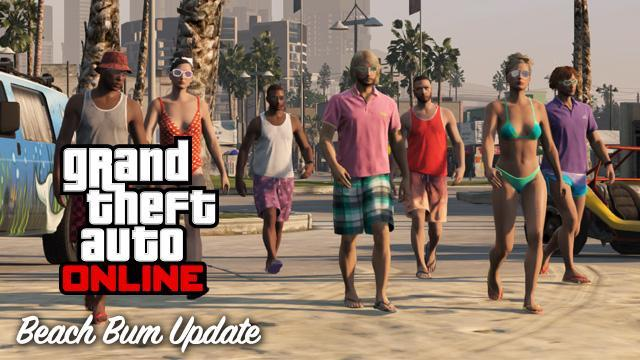 GTA V Title Update 1.06 Notes - Beach Bum Update