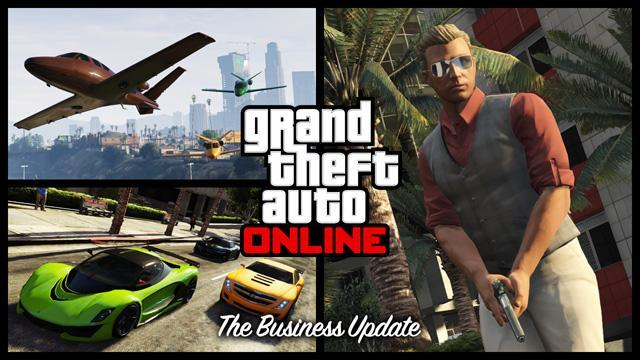 The Business Update for GTA Online Is Now Available