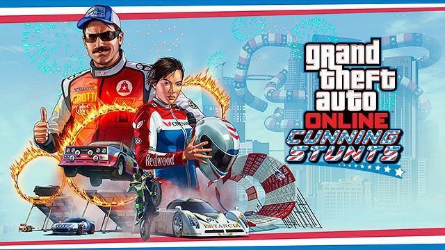 GTA Online: Cunning Stunts Coming July 12th - Watch the Trailer