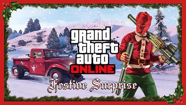 GTA V Title Update 1.19 Notes - Festive Surprise (Online 1.21)