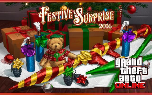 The GTA Online Festive Surprise 2016, Plus New Truffade Nero Supercar & More