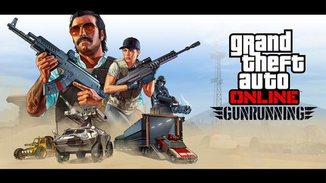 GTA V Title Update 1.40 Notes - Gunrunning