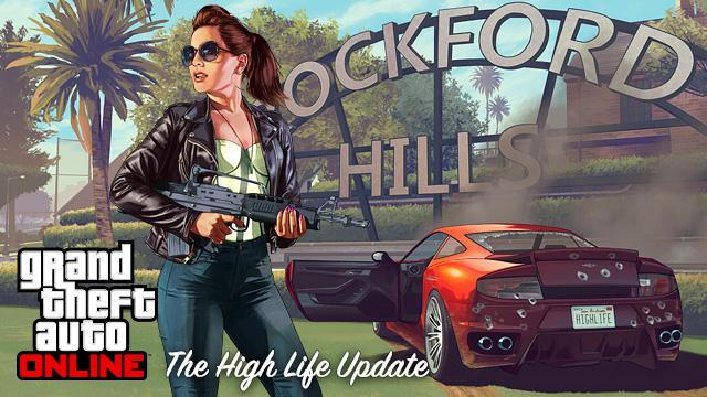 GTA V Title Update 1.13 Notes - The High Life Update